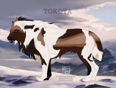 Tokotas for Sale on Tokotas - DeviantArt Fantasy Wolf, Fantasy Beasts, Wolf Drawings, Beast Creature, Dire Wolf, Ghostbusters, Sale On, Mythical Creatures, Wolves