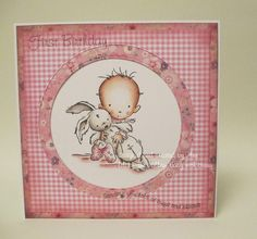 LOTV - Baby with Bunny by Ann Lomax