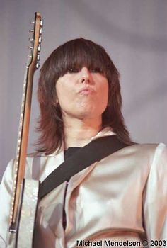~Since the late ' 70s, singer/guitarist/songwriter Chrissie Hynde has been the leader of one of rock's most widely beloved bands, the Pretenders. Description from rokpool.com. I searched for this on bing.com/images
