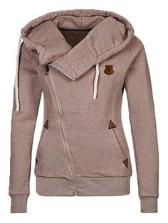 Chicnico Camp Out Zip Hooded Coat
