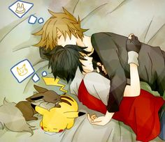 pokemon red green | Green-x-Red - Pokemon Yaoi - japanesegirl17 - Photos - Club Ados.fr