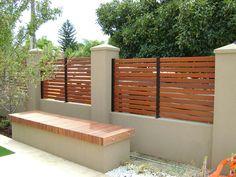 brick fences - Google Search