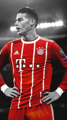 James David Rodríguez Rubio, also known as James, is a Colombian professional footballer for the Ger James Rodrigues, James Rodriguez Wallpapers, Real Madrid, Football Transfers, Fc Bayern Munich, Association Football, National Football Teams, Cristiano Ronaldo, Champions League