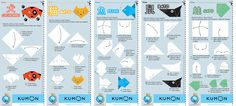 Origamis - Kumon