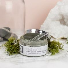 Green Tea Mask.  Wonderful at tightening fine lines and extracting impurities.