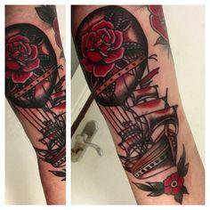 Instagram photo by @alex_bage via ink361.com #tattoo #traditionaltattoo