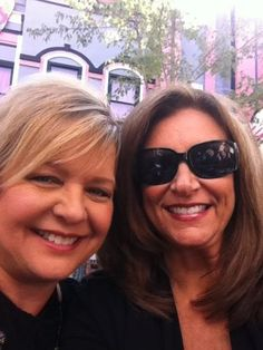 Kelly with Sheri Easter two great ladies of Gospel music
