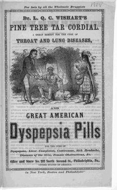 creepy ads | Vintage Medicine Ads of the 1860s | Disturbing Train Wreck Ads