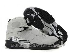 check out f4de7 bf884 Nike Air Jordan 8 Fluorescent Gris