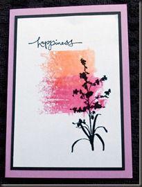 Acrylic block stamping