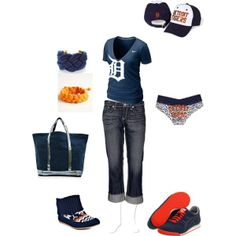 Outfit -- Detroit Tigers outfits-schools-sports
