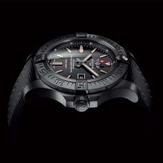 Breitling Avenger Blackbird  Titanium time (video) (See more at EN/Fr/Es: http://watchmobile7.com/articles/breitling-avenger-blackbird) #watches #montres #relojes #breitling @Breitling