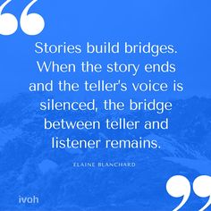 'Stories are a communal currency of humanity' Storytelling Quotes, Meaningful Words, Writing Inspiration, Read More, Quotations, The Voice, Homeschool, Writer, Inspirational Quotes