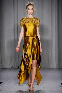 Marchesa, New York Fashion Week, Herbst-/Wintermode 2014 Style Haute Couture, Couture Mode, Couture Fashion, Runway Fashion, Fashion Week, New York Fashion, High Fashion, Fashion Show, Fashion Design