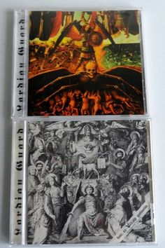 Lordian Guard - S/T & Sinners The Hands Of Angry God (2 CD's, Warlord Frontman)
