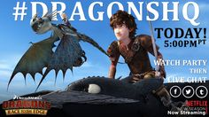 The race is almost on! Get ready to watch Dragons: Race to the Edge Season 2, Episode 1 with us at 5:00pmPT, then join the live chat! ‪#‎DragonsHQ‬ http://bit.ly/DragonsHQ