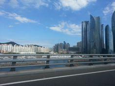 View from gwangan bridge, Busan