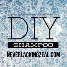 DIY Shampoo - easy t