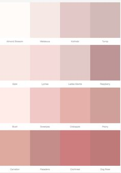 Wallpaper Rose Pastel Girl Rooms Ideas, Wallpaper Rose Pastel Girl Rooms Ideas, IKEA - VOXTORP Door high gloss light beige Sanderson pink paint palette on style library - Warm up your home with pink wall colour Bedroom Paint Colors, Paint Colors For Home, Wall Colors, House Colors, Pink Paint Colors, Pastel Colors, Pastel Palette, Pastel Purple, Dusty Pink