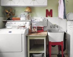 Run the washing machine cycle with distilled white vinegar and hot water. This will get rid of any mildew and soap scum.   - CountryLiving.com
