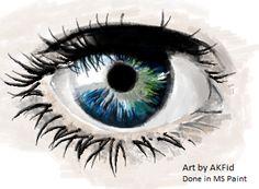 Incríveis imagens criadas apenas com o Paint | tudomundo.com.br
