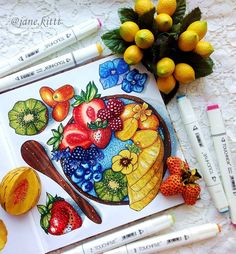 Summer is coming Thanks for inspiration - @scecco_food.for.thought #art #creative #instaart #artist #illustration #leuchtturm1917 #copic #touchmarker #copicart #liner #markers #hatchsketch #fruit #strawberry #food #foodart #spring #topcreator #art_we_inspire #drawing #sketch #sketchbook #loneliestartplanet #artwork #иллюстрация #маркеры #скетчбук #скетч #рисунок #рисуюназаказ