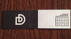 Daniel DeHart Design Business Cards | Stubborn Press & Company