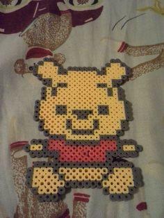 Winnie The Pooh perler beads by SandraDeVampire on deviantART