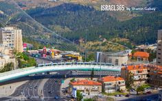 The Chords Bridge in Jerusalem was designed to resemble David's harp, a king whose youth as a skilled warrior enabled a successful conquest and defeat of the enemies of Israel. With each glance at the bridge, one is reminded of his strength, an inspiration to those who love the Holy City
