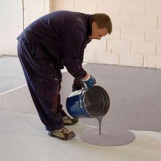 Resiflow Watco self-leveling epoxy resin floor coating . - Resiflow Watco self-leveling epoxy floor coating - Epoxy Resin Flooring, Epoxy Grout, Epoxy Floor, Concrete Floors, Self Leveling Epoxy, Self Leveling Floor, Painting Tile Floors, Painted Floors, Home Design