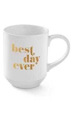Fringe Studio 'Best Day Ever' Mug, $10, nordstrom.com