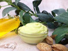 receptura: olivovo-mandlový tělový krém - NATUR Organic Beauty, Mashed Potatoes, Pudding, Fruit, Ethnic Recipes, Desserts, Masky, Food, Fitness