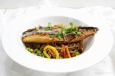 Makrela w teriyaki Japchae, Ethnic Recipes