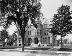 Beautiful Homes In Old Detroit (early 1900s