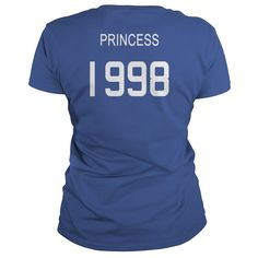 Princess 1998 Shirts T Shirt Hoodie Shirt VNeck Shirt Sweat Shirt Youth Tee for womens and Men =>   Princess 1998 Shirts T Shirt Hoodie Shirt VNeck Shirt Sweat Shirt Youth Tee for womens and Men          5.3 oz., pre-shrunk 100% cotton  Dark Heather is 50/50 cotton/polyester  Sport Grey is 90/10 cotton/polyester  Seamless half-inch collar  Side seamed  Cap sleeves  Double-needle stitched hems  Taped neck and shoulders