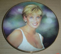 Danbury Mint Collectors Plate UNFORGETTABLE Princess Diana in Collectables, Decorative Ornaments/ Plates, Collector Plates | eBay