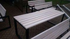 Nowoczesne meble ogrodowe drewno+metal, solidne, różne na zamówienie Łódź - image 7