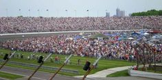 Infield Seating at the Indianapolis Motor Speedway