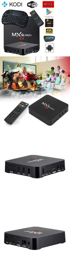 Home Audio: 2017 October Version Mxqpro Smart Tv Box Kodi 17.3 4K Android Quad Core -> BUY IT NOW ONLY: $59.99 on eBay!