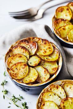 Veggie Pot Pies with Crispy Potatoes