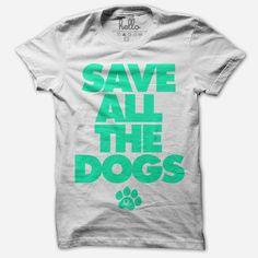 Save The Animals White T-Shirt - Hello Apparel - Hello Merch