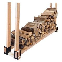 Pleasant Hearth 4 Piece Log Rack Brackets - LS-B4