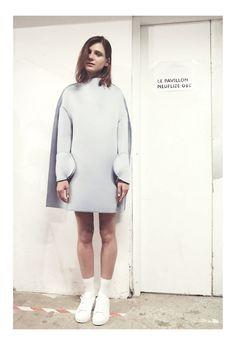 Jacquemus FW 2014-15 backstage | Photography by Marie Amélie Tondu via Novembre Magazine