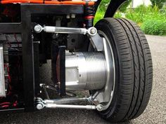 Wireless In Wheel Motor System Developed For Electric Vehicles Electric Vehicle News Scooter