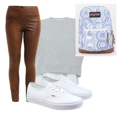 A fashion look from January 2016 featuring cropped shirts, brown pants and vans sneakers. Browse and shop related looks. Brown Pants, Vans Sneakers, Derek Lam, Crop Shirt, Jansport, Fashion Looks, Polyvore, Shirts, Shopping