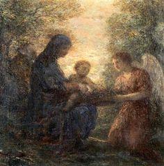 Le repos de la Sainte Familie (1896), painting by Henri Fantin-Latour (1836-1904), from L'enfance du Christ (1854), by Hector Berlioz (1803-1869).