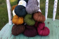 Patchwork   ------ Blanket Kit  ------- Primo Worsted