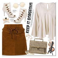 """""""Keep It Gorgeous"""" by oshint ❤ liked on Polyvore featuring Faith Connexion, Victoria Beckham, Salvatore Ferragamo, awesome, amazing, cool, fabulous and twinkledeals"""
