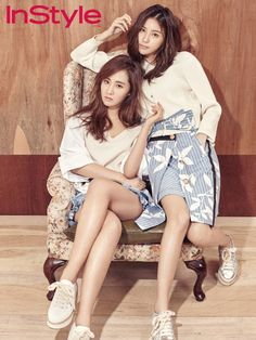 SNSD's Yuri for InStyle's April issue ~ Wonderful Generation