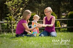family photography - three generations of lovely ladies